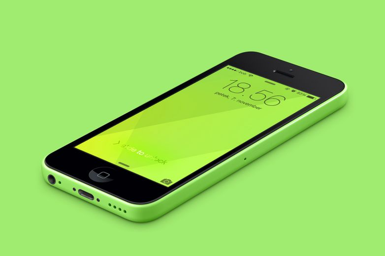 iPhone 5C Green Wallpaper